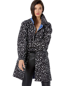 Norma Kamali Bonded Reversible Trench