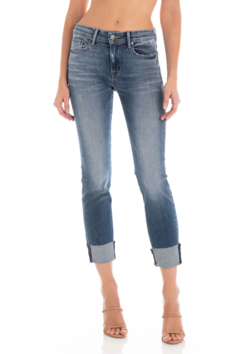 Fidelity Stevie Mid Rise Crop