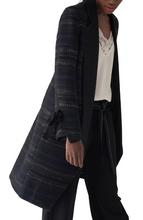 Load image into Gallery viewer, Gabby Basket Jacquard Coat