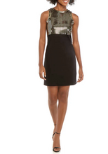 Load image into Gallery viewer, Michael Kors Sequin Bodice Ponte Dress