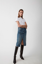 Load image into Gallery viewer, Just Female Pacific Denim Skirt