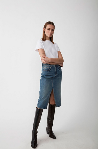 Just Female Pacific Denim Skirt