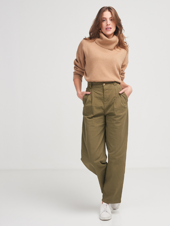 La Fée Maraboutée Pleated Pants