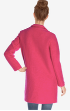 Load image into Gallery viewer, La Fée Maraboutée Fushia Coat