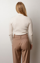 Load image into Gallery viewer, La Fée Maraboutée Ecru Pullover Sweater