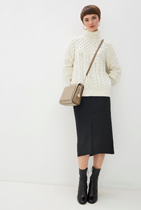 Michael Kors Cable Knit Turtlekneck Sweater
