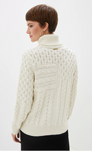 Load image into Gallery viewer, Michael Kors Cable Knit Turtlekneck Sweater