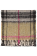 Load image into Gallery viewer, La Fée Maraboutée Plaid Scarf
