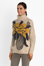 Load image into Gallery viewer, La Fée Maraboutée Flower Knit Pullover