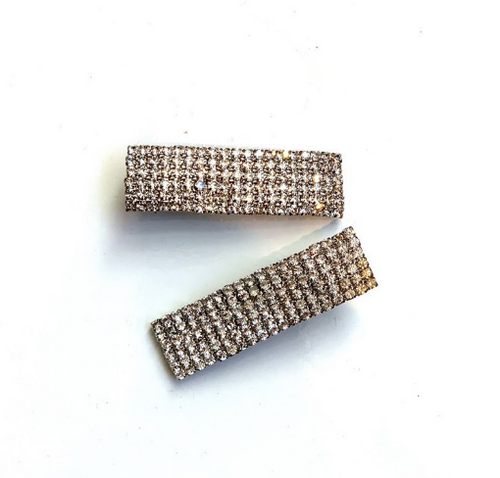 Klassified Small Rhinestone Hair Clips