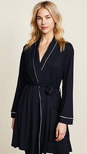 Load image into Gallery viewer, Eberjey Gisele Tuxedo Robe