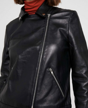 Load image into Gallery viewer, Soaked in Luxury Maeve Leather Jacket