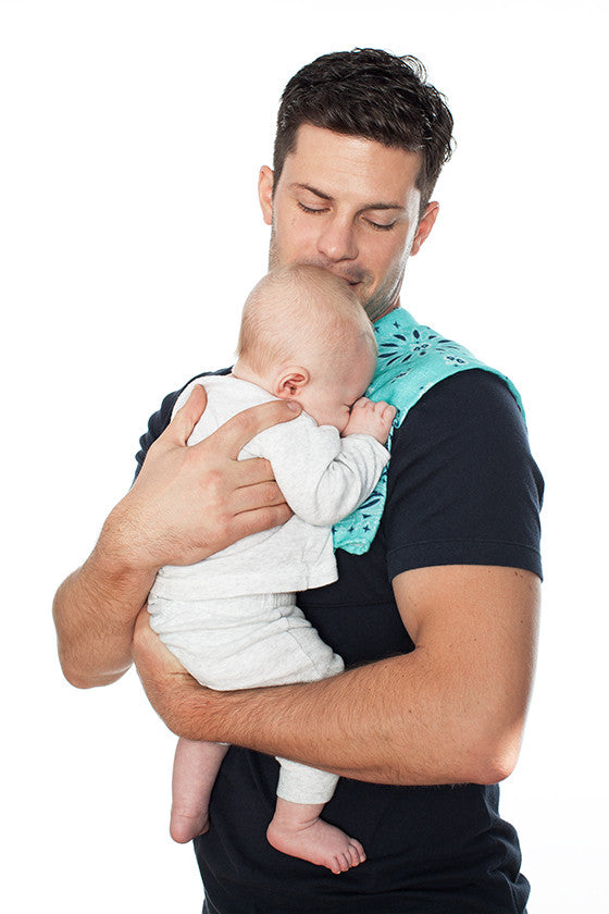 Father Figure Bundle of Joy Luca T-shirt and Bandana Burp Rag Set