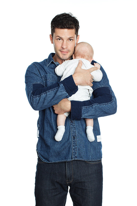... Father Figure Booker Denim Shirt For New Dads ...