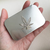stash tin weed tin tea