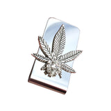 weed gift mens money clip wedding