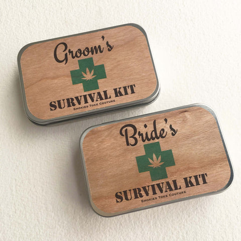 bride survival kit stoner weed stash box