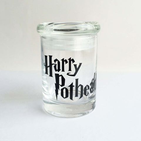 harry potter fan weed jar stash jar stoner gift