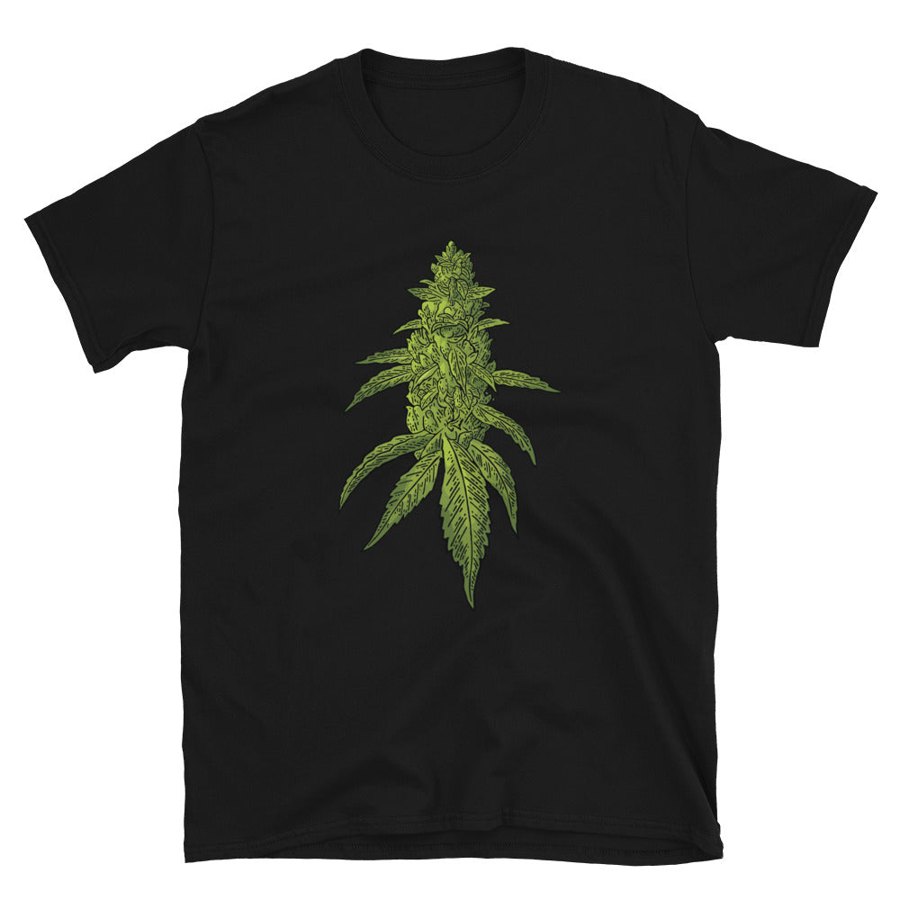 Big Dank Weed Bud Short-Sleeve Unisex T-Shirt