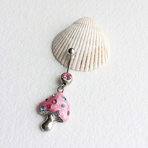 cute belly ring stoner girl gift stocking stuffer
