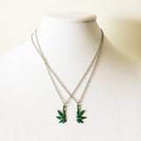 best buds necklace weed jewelry gift