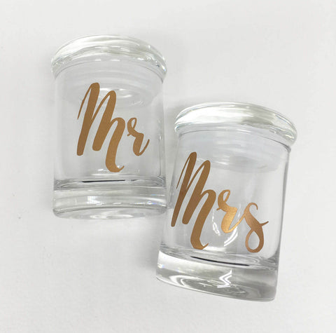 his and hers weed jar stash jar, stoner couple gift, classy stoner gift