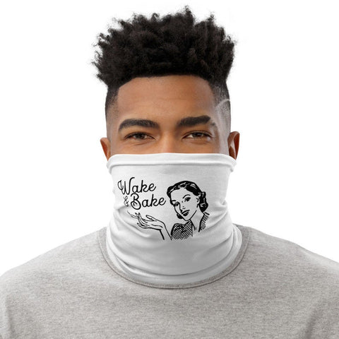 Weed Face Mask - Wake & Bake Neck Gaiter