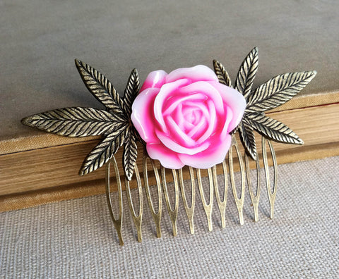 weed comb gift hair accessories hair clip