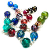 Hand Blown Glass Bead Necklace