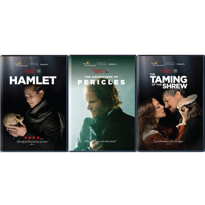 Stratford Festival HD 2016 Film Series - 3-Pack Set (Hamlet, Pericles & Shrew)