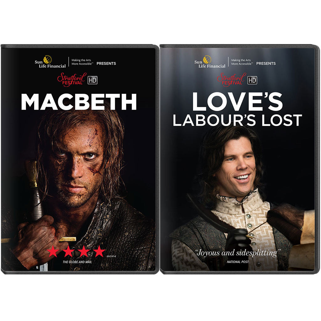 Stratford Festival HD 2017 Film Series - 2-Pack Set (Macbeth, Love's Labour's Lost)