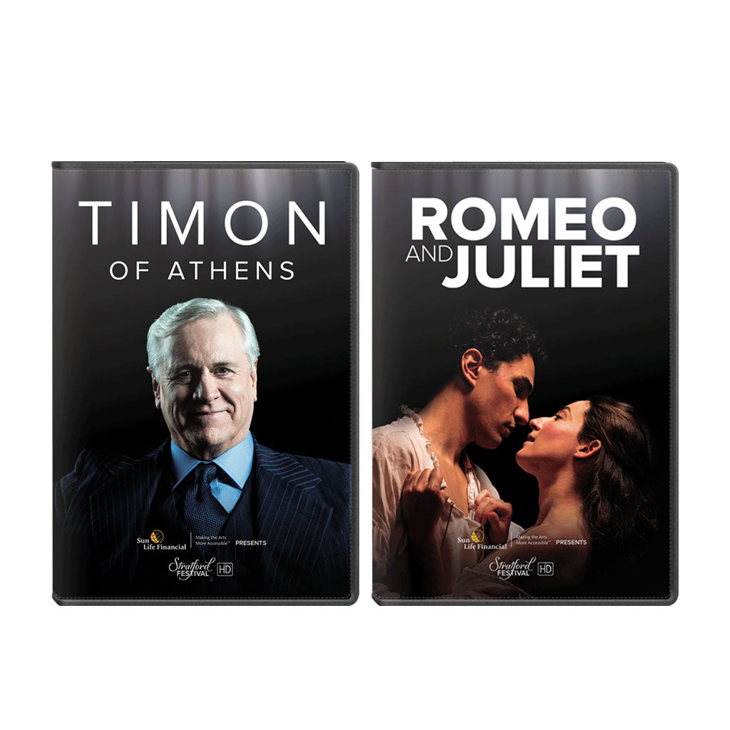 Stratford Festival HD 2018 Film Series - 2 Pack Set (Timon of Athens, Romeo & Juliet)