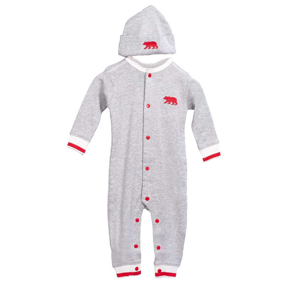 Work Sock Baby Coverall and Hat