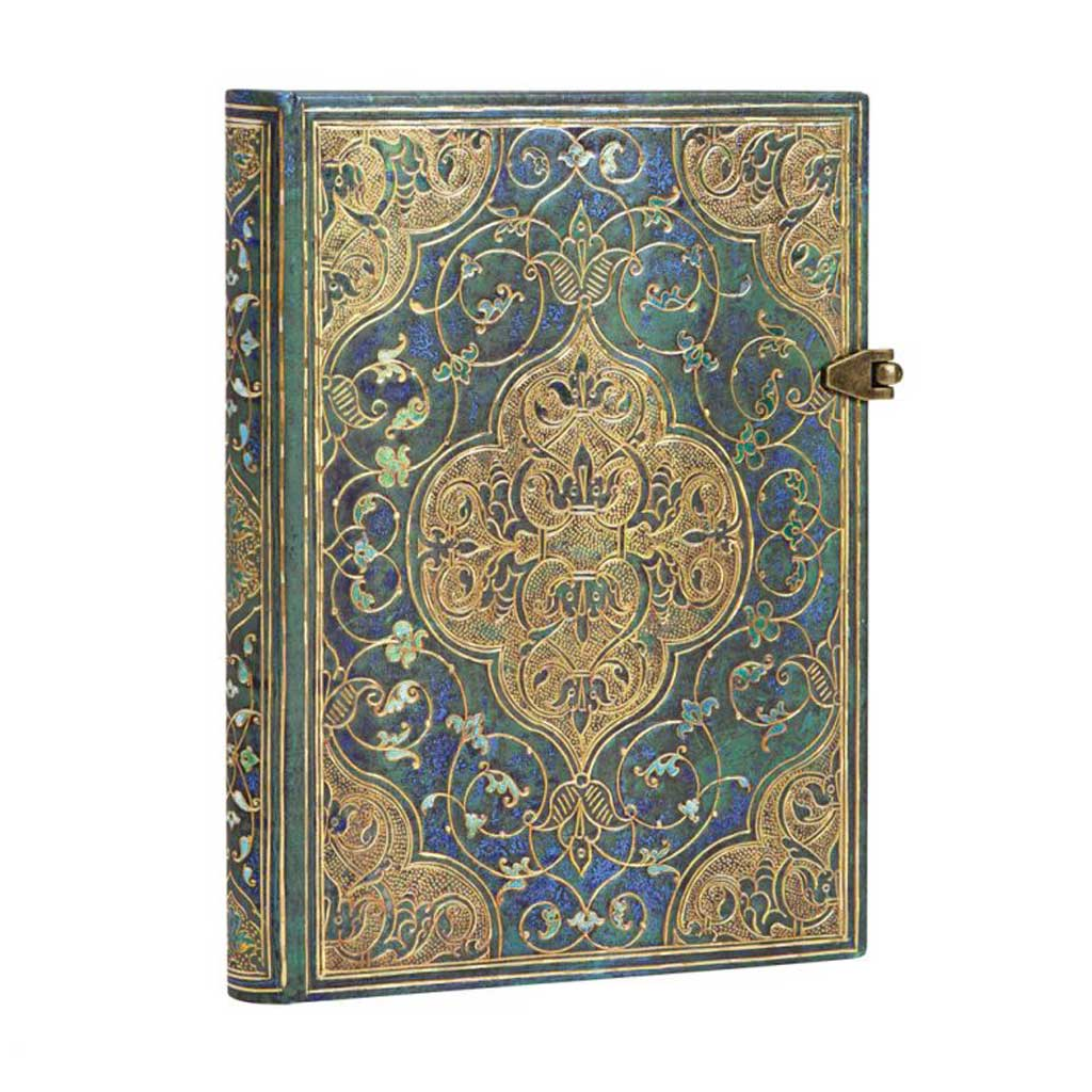 "Paperblanks - ""Turquoise Chronicles"" Lined Notebook"