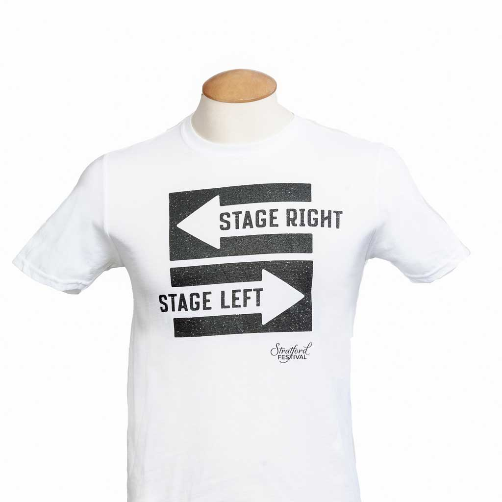 Stage Right, Stage Left Unisex Tee