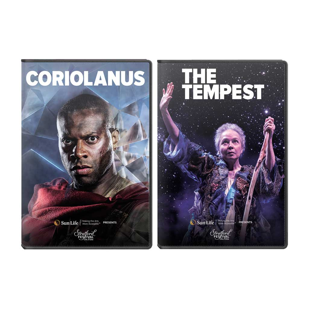 Stratford Festival HD 2-Pack: Coriolanus & The Tempest
