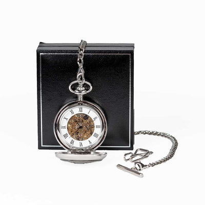William Shakespeare Mechanical Pocket Watch