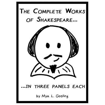 Complete Works of Shakespeare... in Three Panels Each