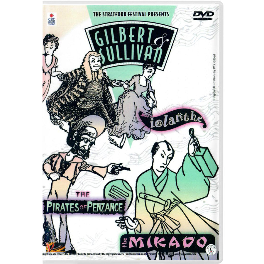 Gilbert & Sullivan Musical 6-Pack - DVD