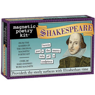 Shakespeare Magnetic Poetry Kit