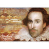 Painterly Shakespeare Magnet