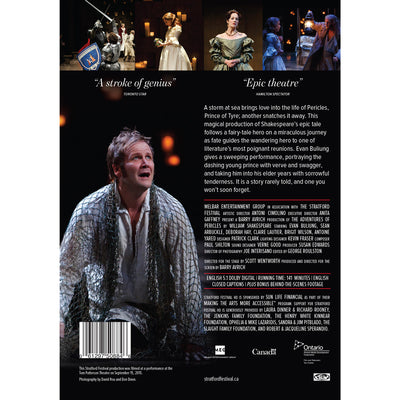 The Adventures of Pericles DVD Back Cover