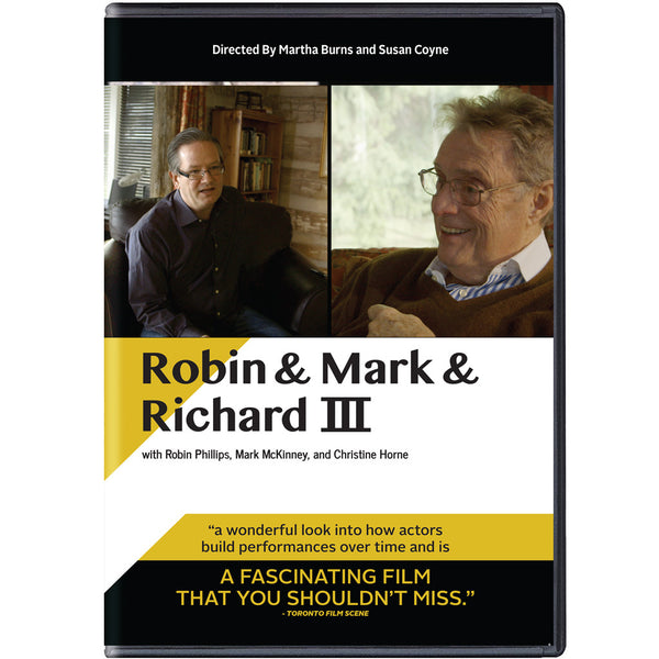 Robin & Mark & Richard III - 2016 - DVD