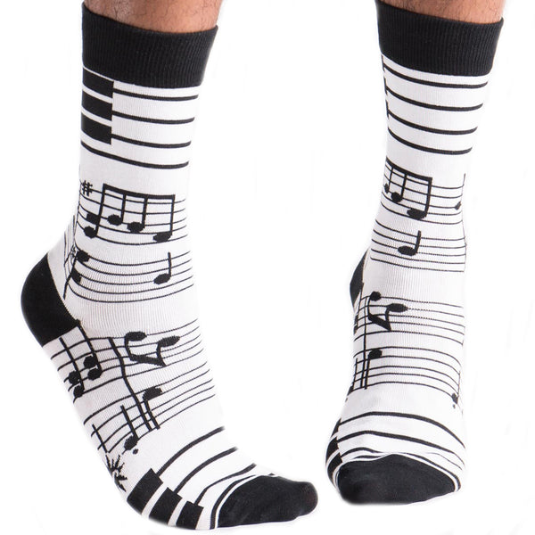 Crew Foot Notes Socks