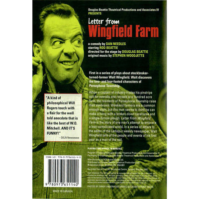 Letter From Wingfield Farm - 1997 - DVD