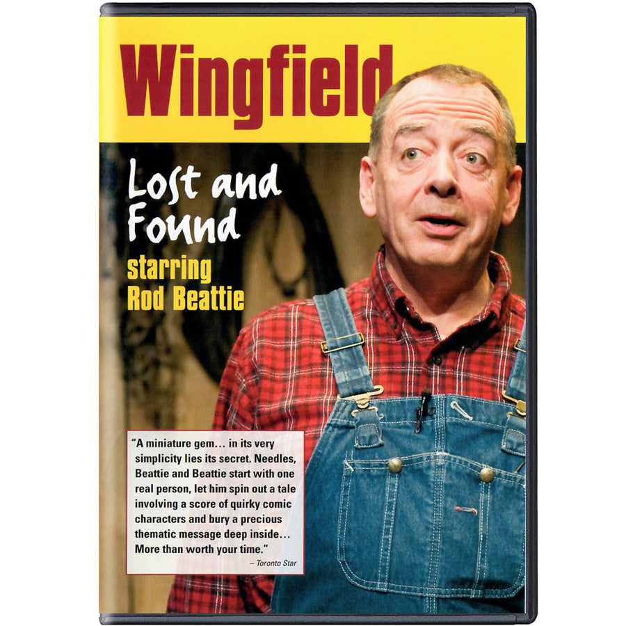 Wingfield Lost and Found - DVD