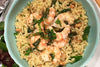 Ginger Coconut Shrimp Orzo
