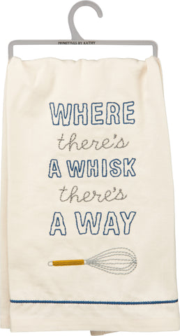 Dish Towel- There's A Way