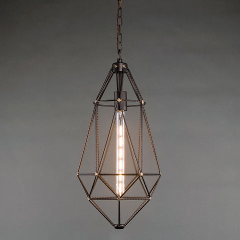 Wire Drop Pendant Light