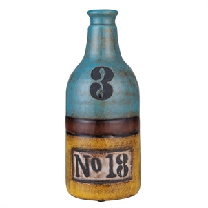 Shoreline Vase With Numbers